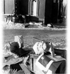Музей П.И.Чайковского после фашистов