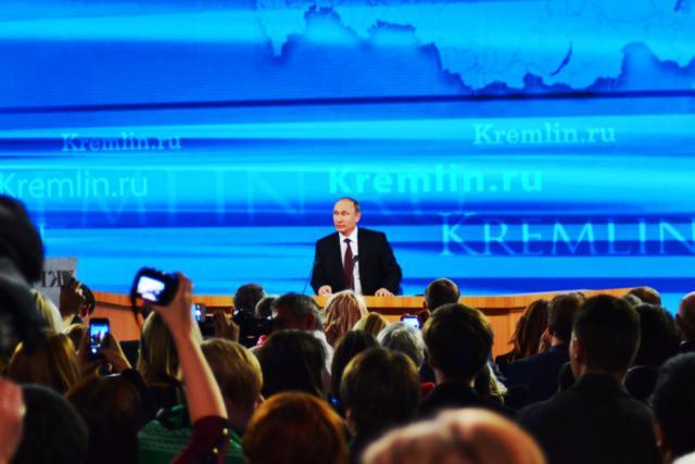 Российская газета Школьная страна на пресс-конференции Президента России 2013 года