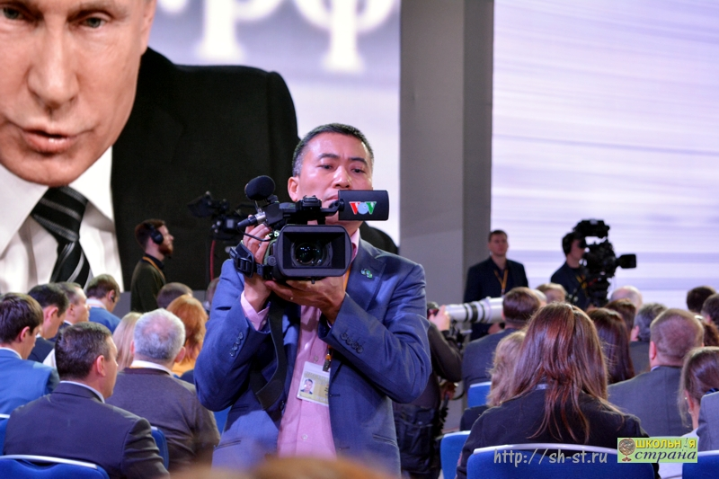 пресс-конференция Президента России 2015 г.